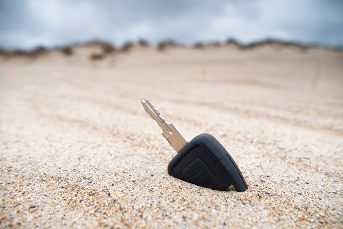 потеря ключей