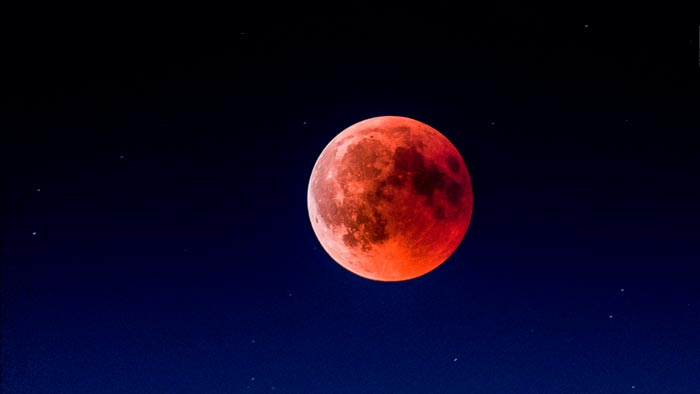 красная луна