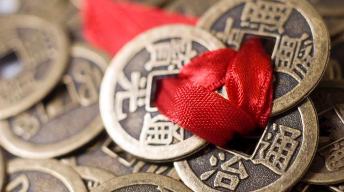 китайская монетка оберег