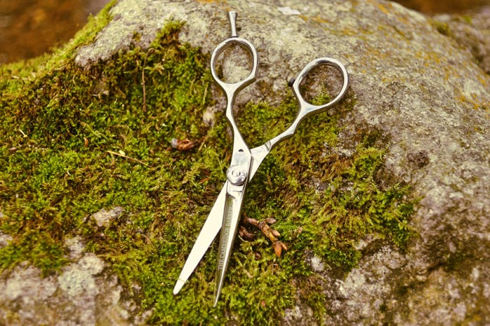 ножницы на земле