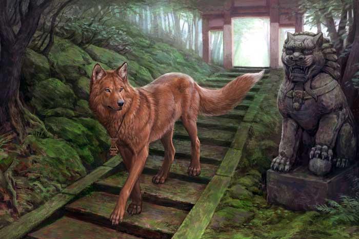 мифологический волк